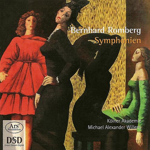 bernhard romberg symphonies willens