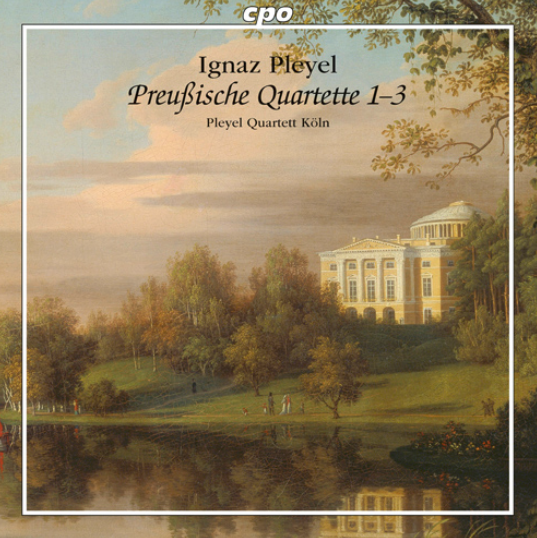 ignaz pleyel quatuors prussiens