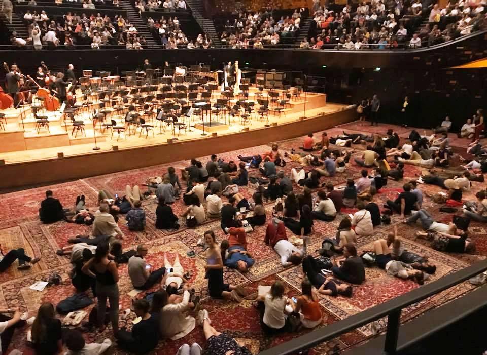 philharmonie tapis