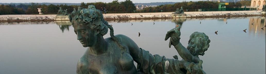 putto Pierre I Legros nymphe aux oiseaux