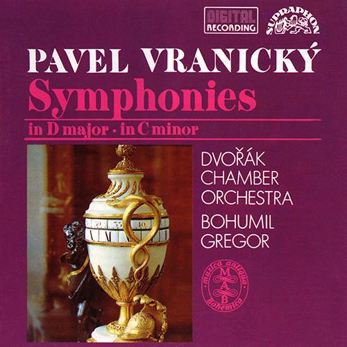 vranický wranitzy symphonies bohumil gregor